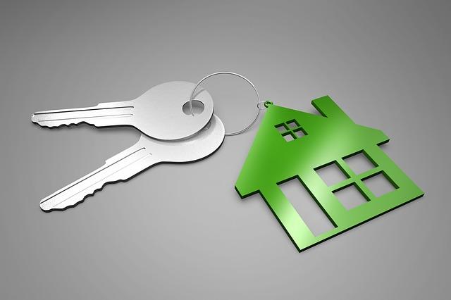 zelený domeček, klíče