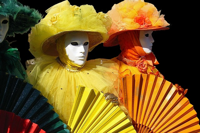 masky na karneval