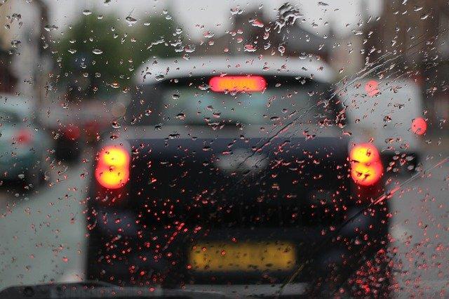 auto déšť