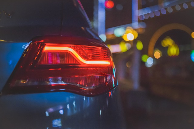 světlo fuzzy auto