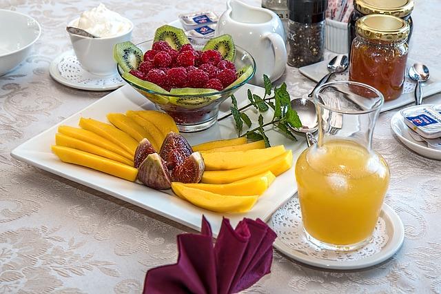 čerstvá snídaně
