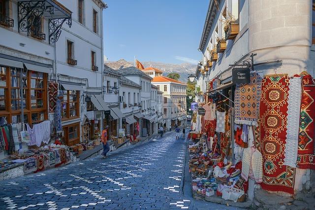 Albánie, Gjirokaster